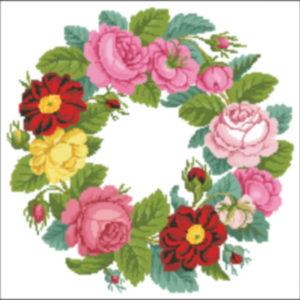 1830s Rose wreath