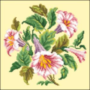 1840 trumpet flowers Pink alternate