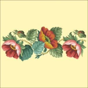 1852 Poppy Bellpull