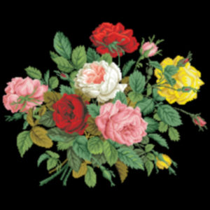 1860s Floral Bouquet