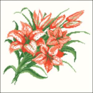 1920s Orange tiger lilies