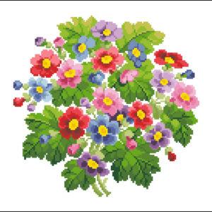 Batchelor Button Bouquet