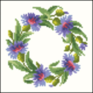 Cornflower Wreath