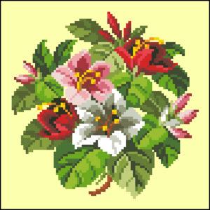 Heinrich Kuehn Lilly Bouquet
