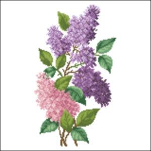 Large Lilac Spray