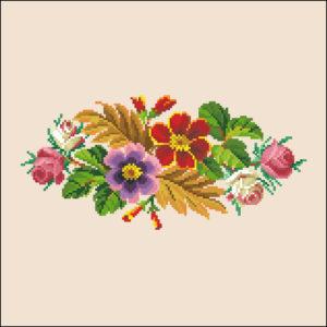Oblong Floraltxt