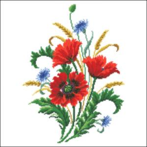 Poppies firescreen