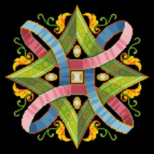 fanciful geometric