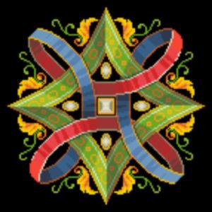 fanciful geometric alternate